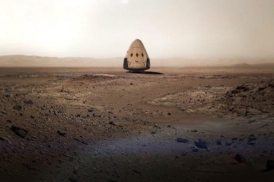 Red Dragon on Mars