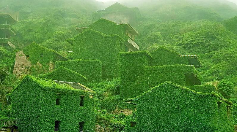 abandoned-green-village